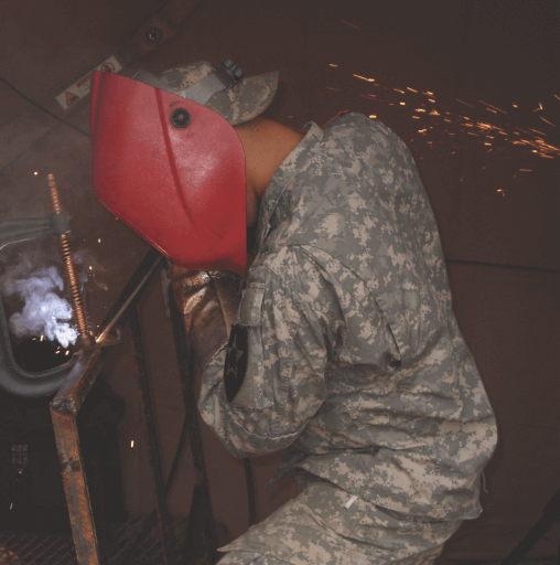 Reporting for Duty as an Army Welder - FABTECH U S A