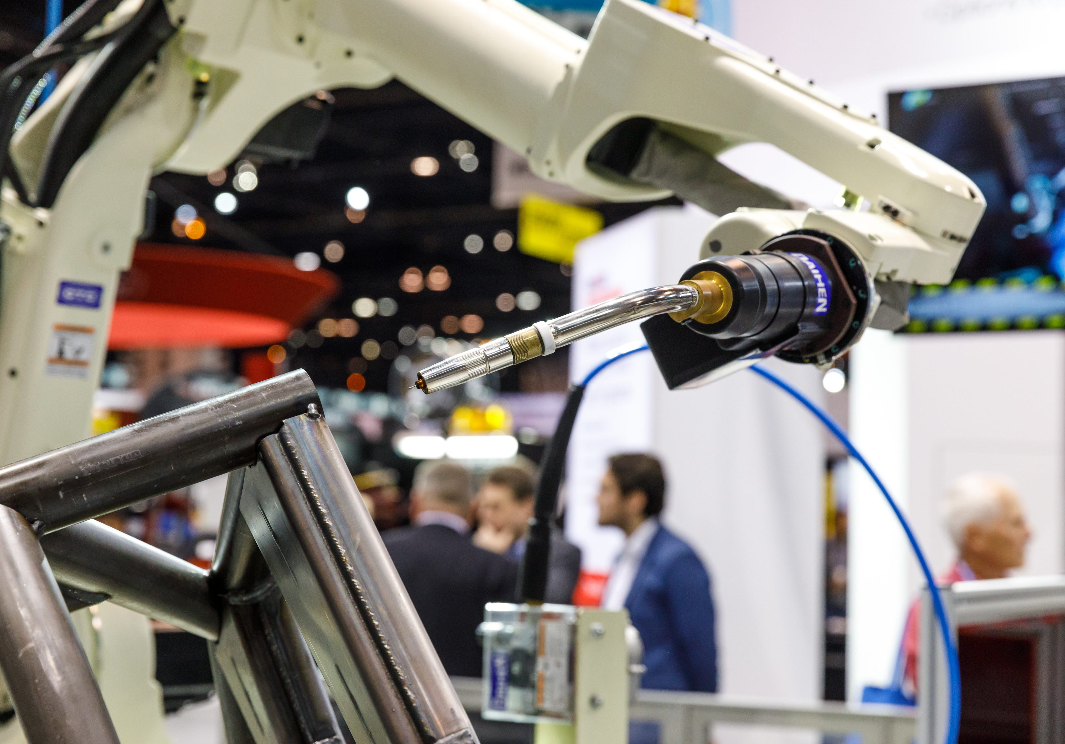 Images from FABTECH 2017 at McCormick Place in Chicago, IL.